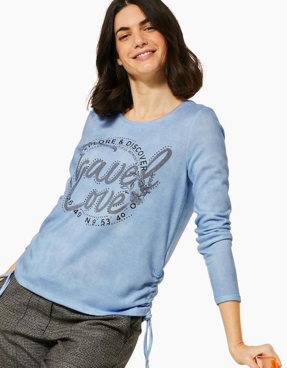 CECIL Cosy Shirt mit Frontprint | ADLER Mode Onlineshop