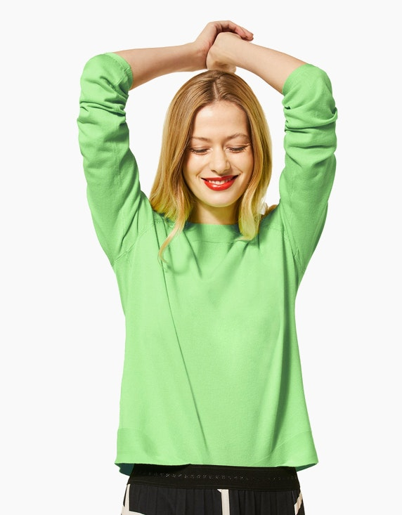 Street One Pullover in Unifarbe | ADLER Mode Onlineshop
