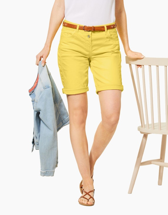 CECIL sportive Colour-Shorts im Loose-Fit-Style   ADLER Mode Onlineshop