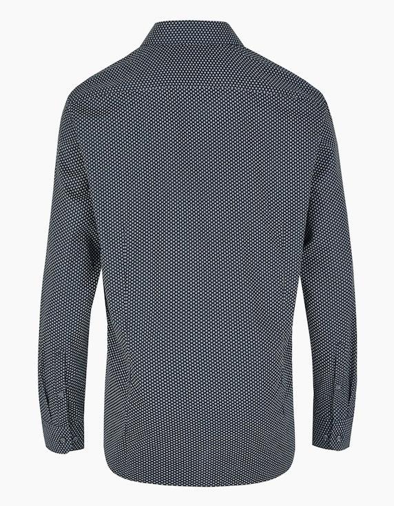 Seidensticker Gemustertes Dresshemd in bügelfreier Qualität, SLIM FIT | ADLER Mode Onlineshop