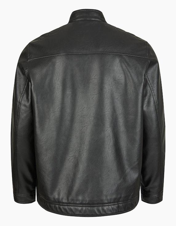 Big Fashion Jacke in Lederoptik | ADLER Mode Onlineshop