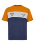 Orange/Grau/Marine