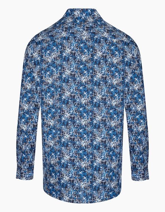 Bexleys man Freizeithemd mit großem Blumenprint, REGULAR FIT | ADLER Mode Onlineshop