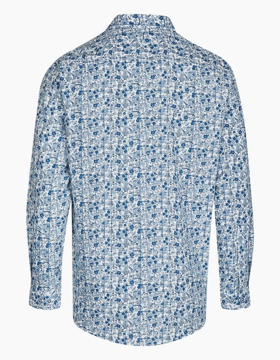 Bexleys man Freizeithemd mit Flowerprint, REGULAR FIT | ADLER Mode Onlineshop