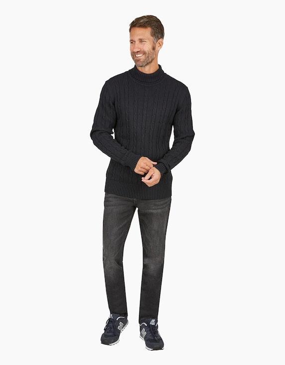Via Cortesa Jeans im 5-Pocket Style in Black Denim   ADLER Mode Onlineshop