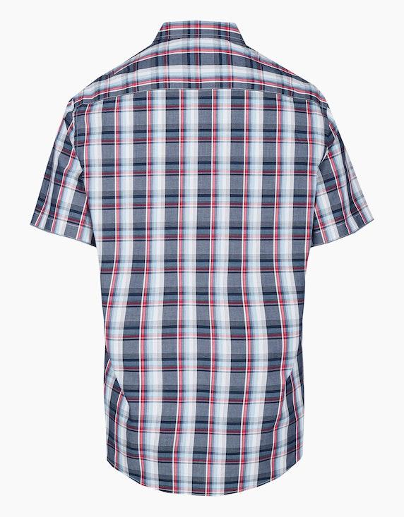Bexleys man Freizeithemd, kurzarm, kariert | ADLER Mode Onlineshop