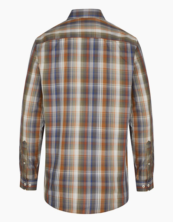 Bexleys man Freizeithemd in farbigem Karo-Dessin, REGULAR FIT   ADLER Mode Onlineshop