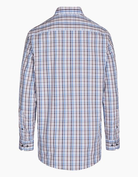 Bexleys man Kariertes Freizeithemd in bügelfreier Qualität, REGULAR FIT   ADLER Mode Onlineshop