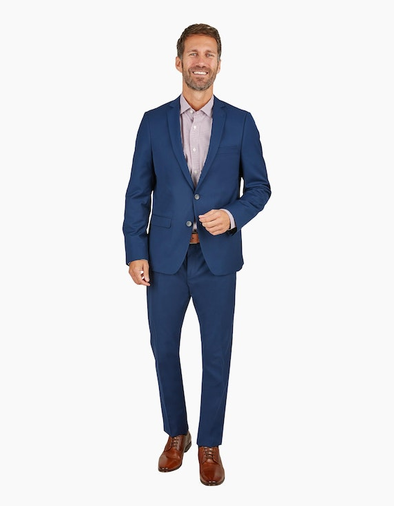 Thomas Goodwin Baukasten-Sakko Slim Fit in Royal Blau | ADLER Mode Onlineshop
