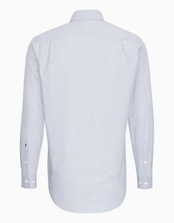 Seidensticker Dresshemd im Kleinkaro mit modischem Besatz, MODERN FIT | ADLER Mode Onlineshop