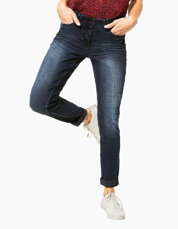 CECIL Denim-Jeanshose mit Highlights und Crash-Effekt | ADLER Mode Onlineshop