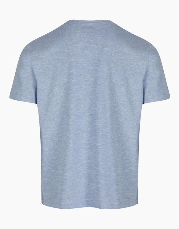Bexleys man Henleyshirt mit Fineliner-Streifen   ADLER Mode Onlineshop