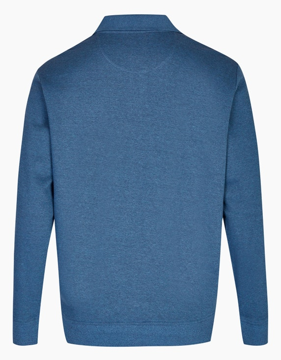 Bexleys man Polo-Sweatshirt mit Brusttasche | ADLER Mode Onlineshop