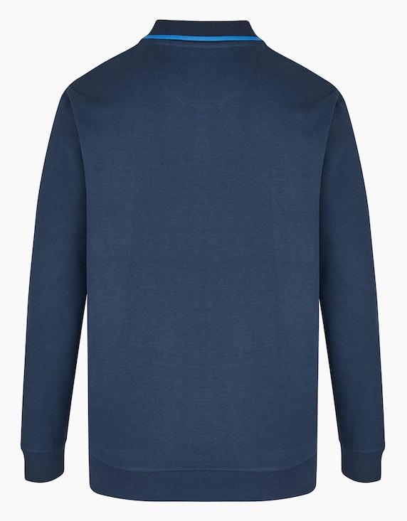 Bexleys man Kuscheliges Polo Sweatshirt mit Brusttasche | ADLER Mode Onlineshop