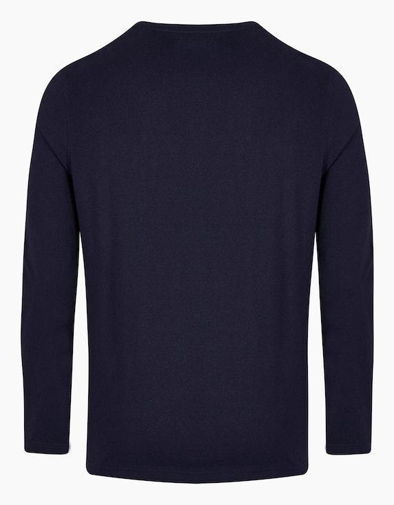 Bexleys man Langarmshirt mit Brusttasche | ADLER Mode Onlineshop