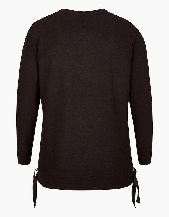 No Secret Sweatshirt in feiner Streifenstruktur | ADLER Mode Onlineshop