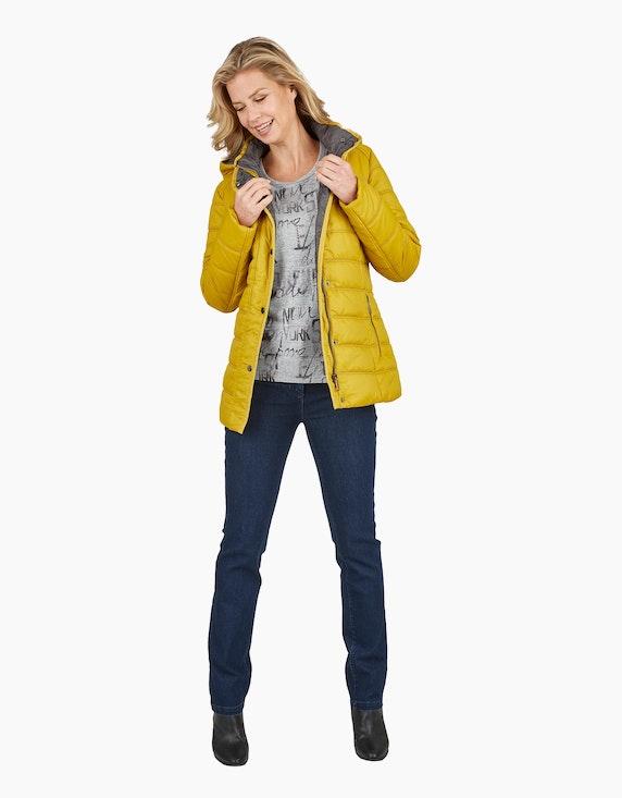 Bexleys woman Steppjacke mit Kapuze und Ripsband-Details | ADLER Mode Onlineshop