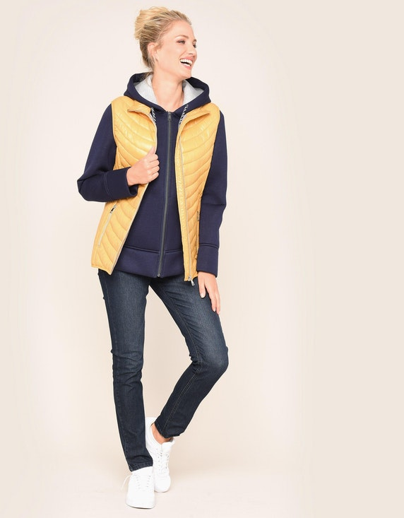 Bexleys woman Steppweste in leicht schimmernder Qualität | ADLER Mode Onlineshop