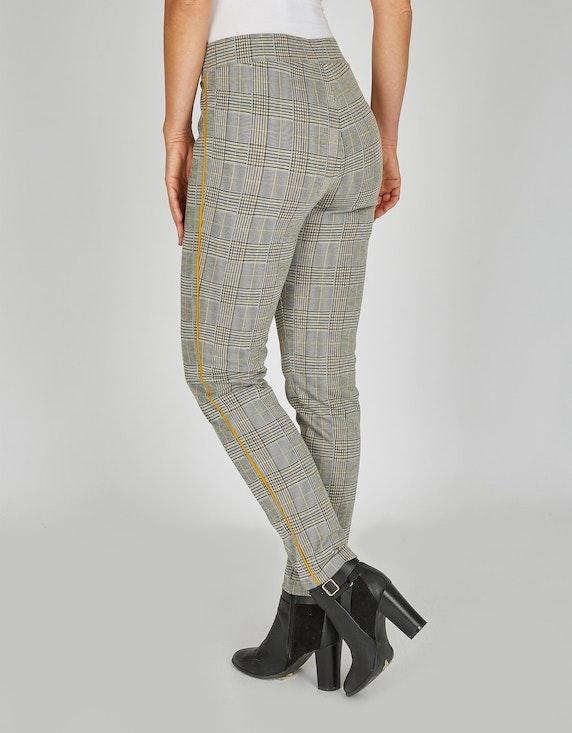 Bexleys woman Jerseyhose im Karo-Dessin | ADLER Mode Onlineshop