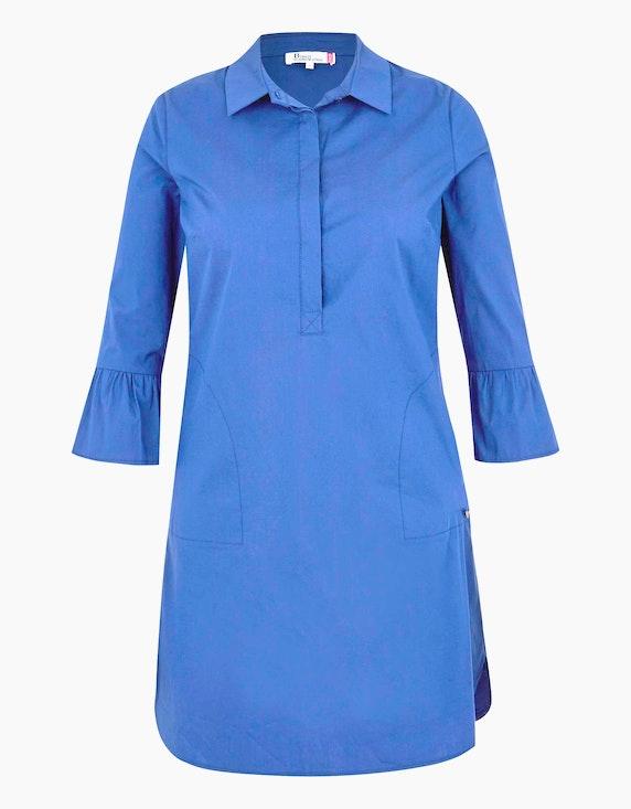 Birgit Schrowange Kollektion Hemdblusenkleid mit Volantärmeln | ADLER Mode Onlineshop
