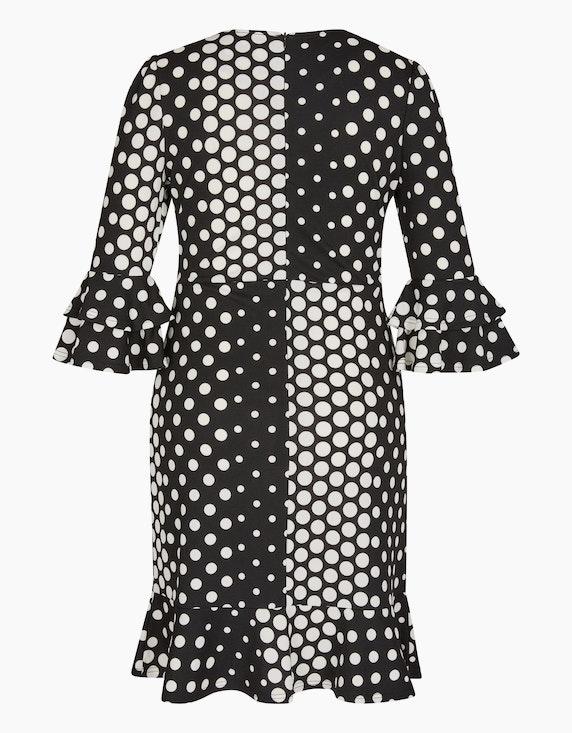 Bexleys woman Jerseykleid mit Punkten und Volants | ADLER Mode Onlineshop