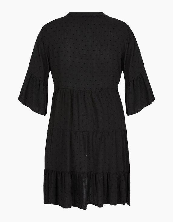 Made in Italy Kleid mit Dobby-Struktur | ADLER Mode Onlineshop
