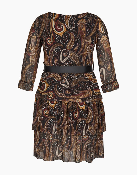 Made in Italy Chiffonkleid mit Paisley-Muster | ADLER Mode Onlineshop