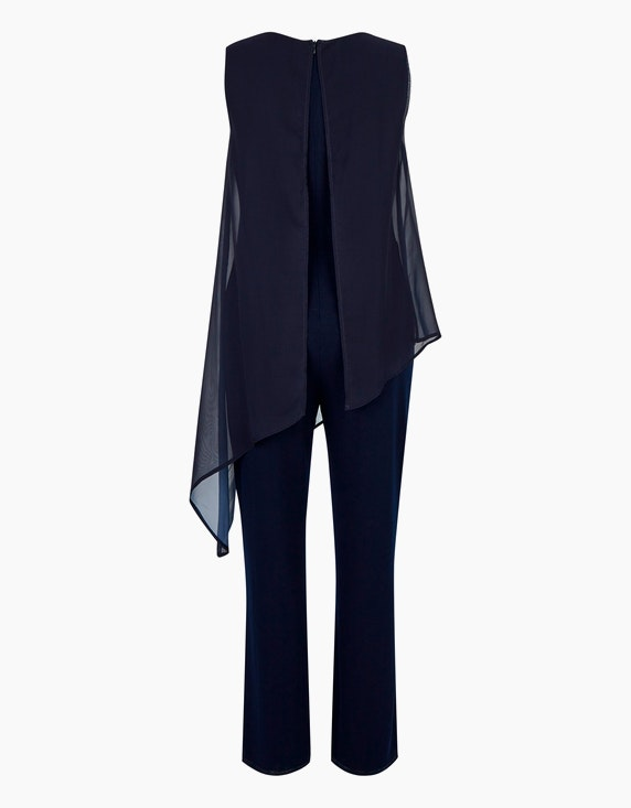 Bexleys woman Jumpsuit mit Chiffon-Layer | ADLER Mode Onlineshop