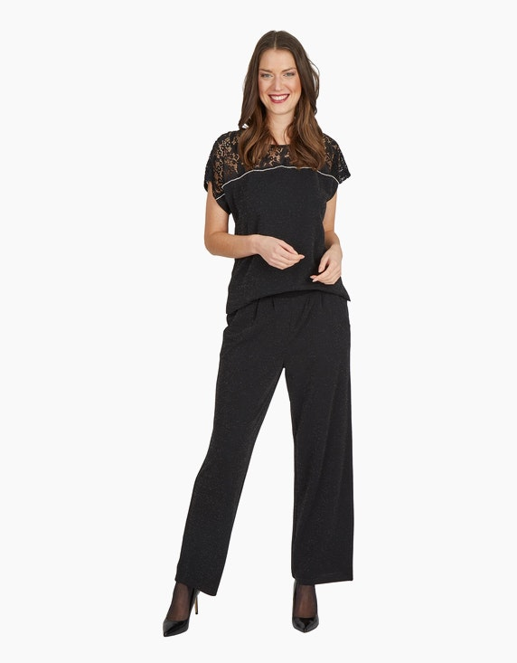 "iN FRONT Jumpsuit ""Rikka"" mit Glitzereffekt 