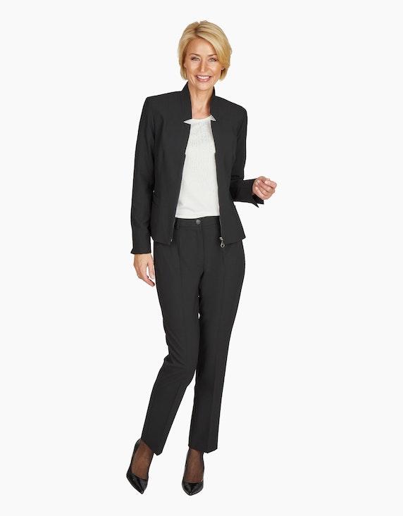 Steilmann Woman Blazer mit Reißverschluss | ADLER Mode Onlineshop