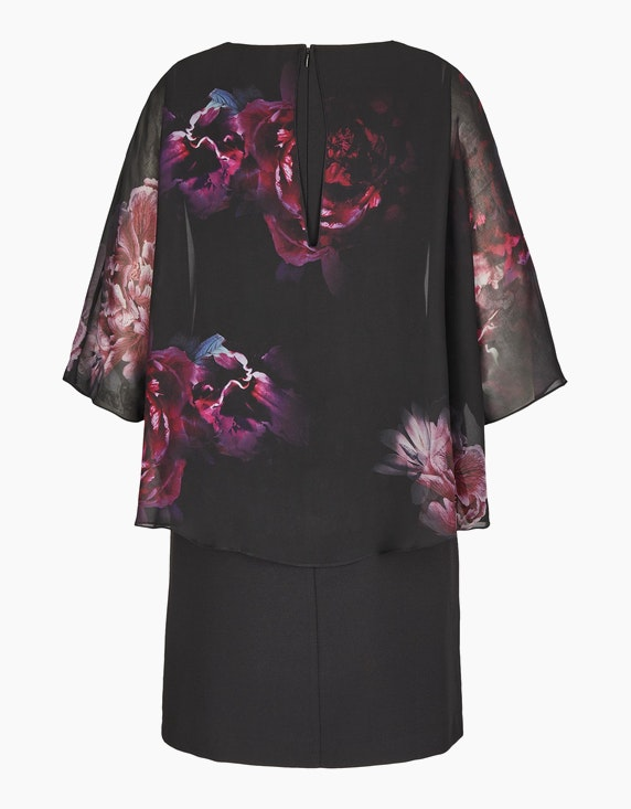 KS. selection Kleid mit Chiffon-Cape | ADLER Mode Onlineshop