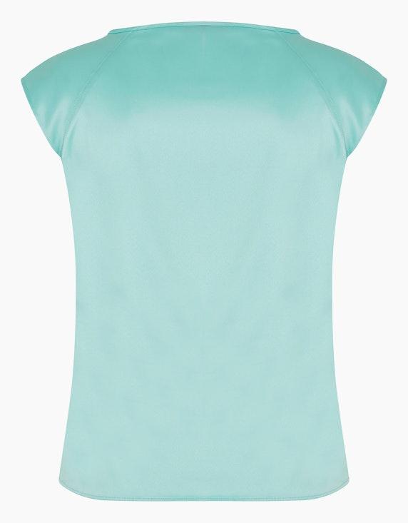 KS. selection Blusenshirt mit Satinglanz | ADLER Mode Onlineshop