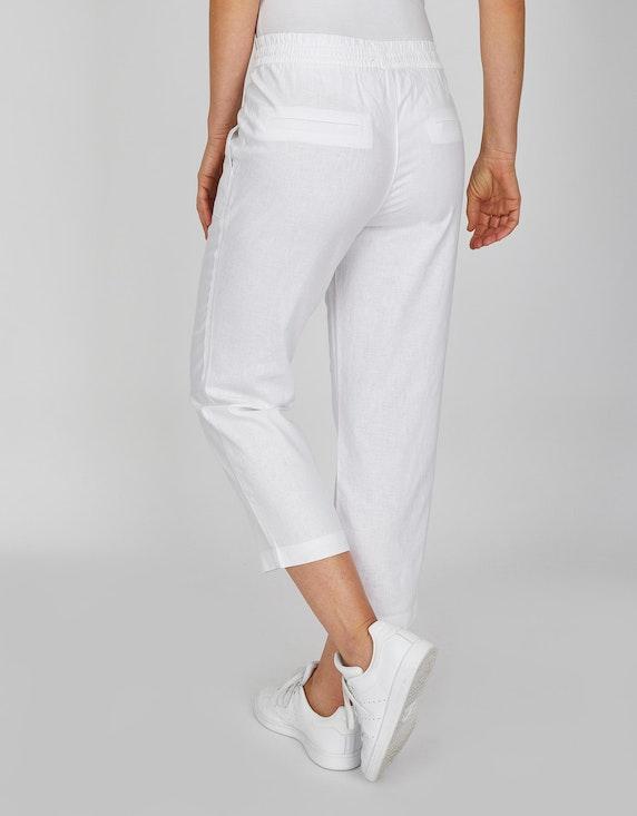 Bexleys woman 3/4 Hose aus Leinenmischgewebe | ADLER Mode Onlineshop