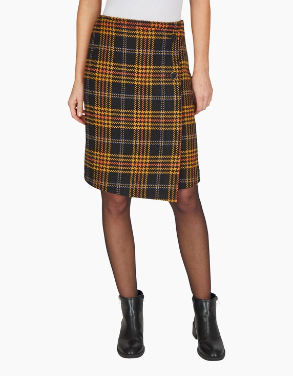 Bexleys woman Tartan-Rock in Wickeloptik | ADLER Mode Onlineshop