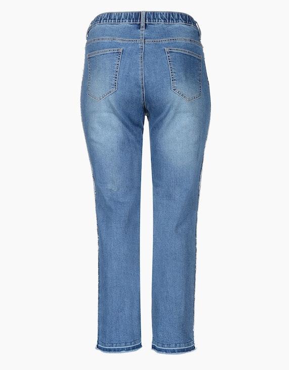 Thea 5-Pocket Jeanshose mit Galonstreifen | ADLER Mode Onlineshop