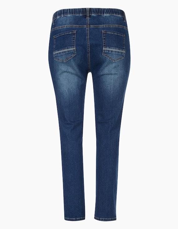 Thea 5-Pocket-Jeans mit Kontrast-Piping an Taschen | ADLER Mode Onlineshop