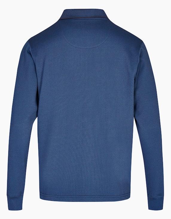 Bexleys man Polo-Shirt mit Reißverschluss | ADLER Mode Onlineshop