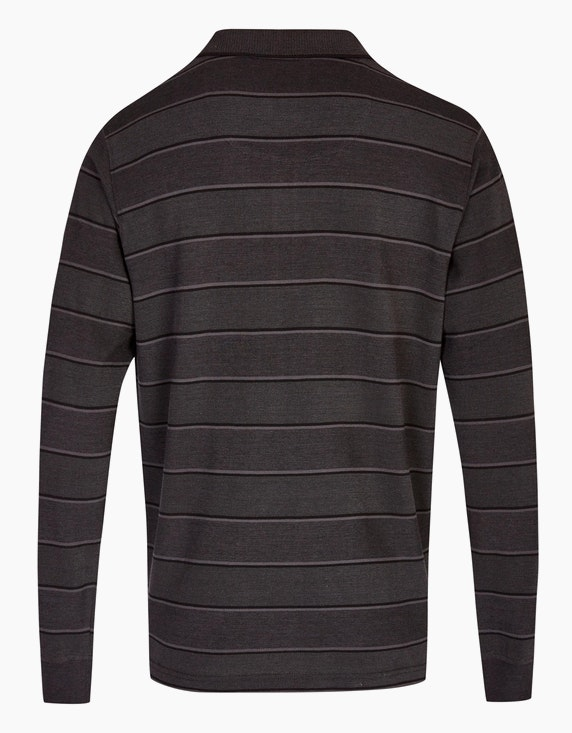 Bexleys man Langarm Poloshirt gestreift | ADLER Mode Onlineshop
