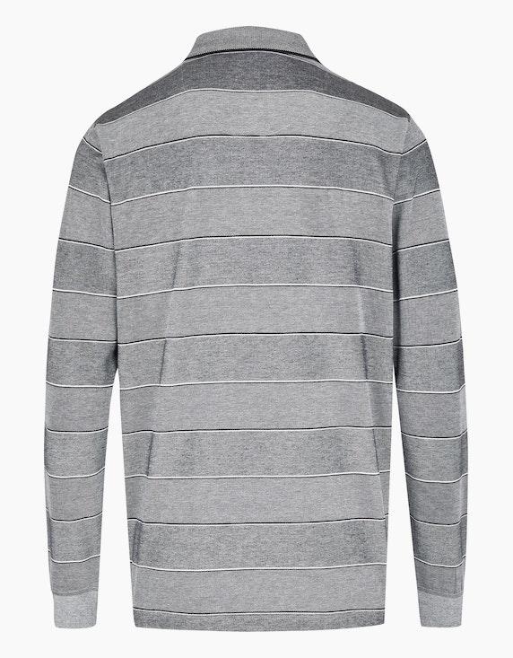 Bexleys man Gestreiftes Poloshirt in Twotone   ADLER Mode Onlineshop