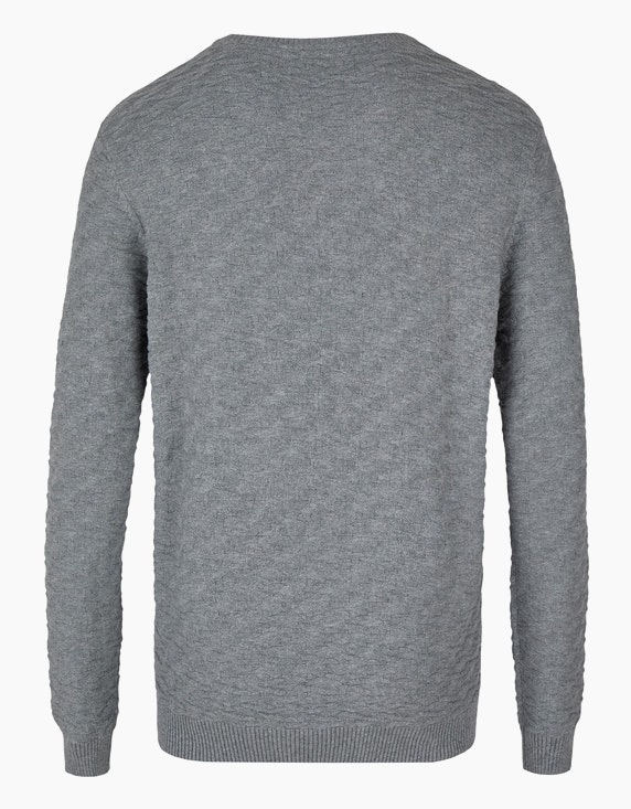 Bexleys man Modischer Pullover in Struktur   ADLER Mode Onlineshop