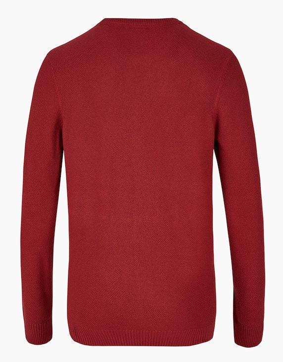 Bexleys man Unifarbener Pullover mit Struktur | ADLER Mode Onlineshop