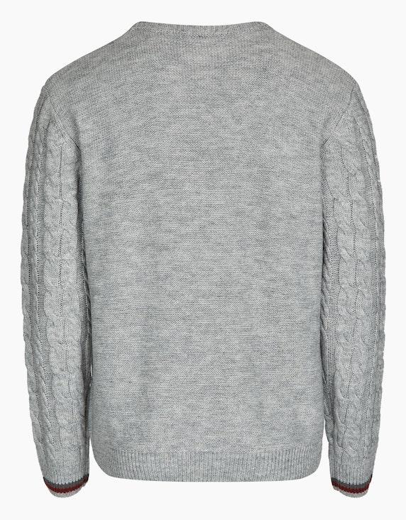 Bexleys man Pullover mit Rauten- und Zopfmuster | ADLER Mode Onlineshop