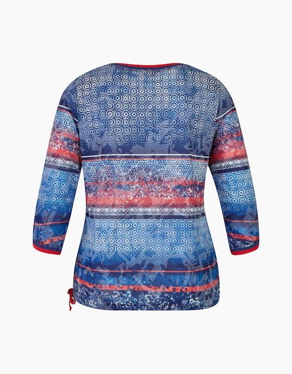 Steilmann Woman Shirt mit Tunnelzug-Saum | ADLER Mode Onlineshop