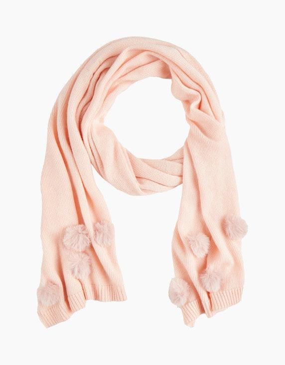 Steilmann Woman Bommel-Schal in Rosa | ADLER Mode Onlineshop