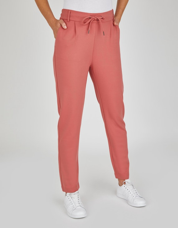 Bexleys woman Joggpants mit Bundfalten in Lachs | ADLER Mode Onlineshop