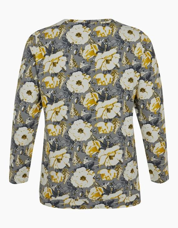 Thea Sweatshirt mit floralem Druck | ADLER Mode Onlineshop