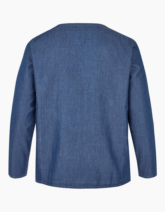 Thea Jacke in leichter Jeans-Qualität | ADLER Mode Onlineshop