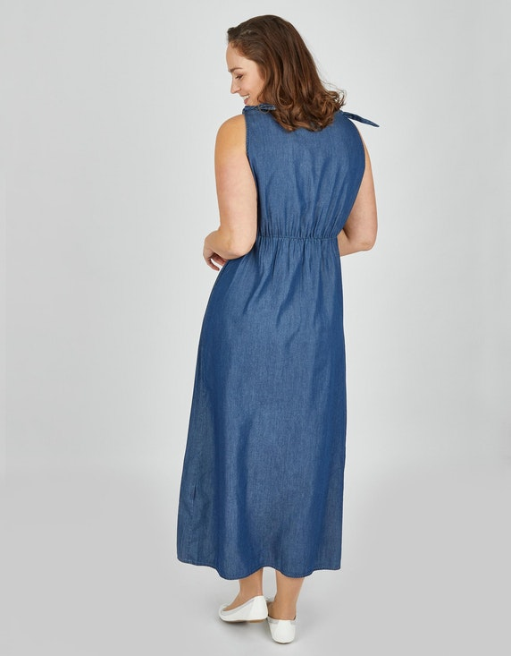 Thea Maxikleid in leichter Jeans-Qualität | ADLER Mode Onlineshop