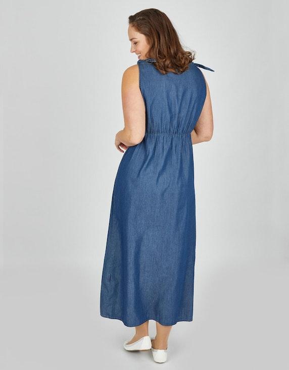 Thea Maxikleid in leichter Jeans-Qualität   ADLER Mode Onlineshop