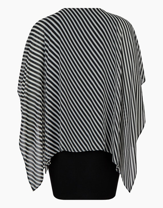 Thea Kleid mit Chiffon-Überwurf | ADLER Mode Onlineshop